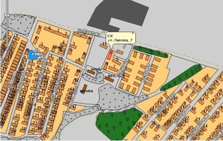 сайт - Карта поселка.